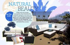 Outdoor Oasis: Get the Look - Natural-Beauty | Gallery | Glo