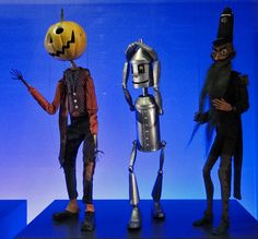 Wizard of Oz Marionettes from the Paul McPharlin Puppetry Collection. Picture by Maia C, via Flickr.