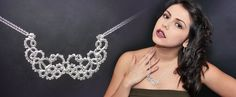 'Ascension' sterling silver statement necklace - to be worn to that special occasion, such as the summer ball