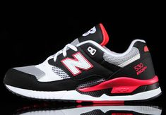 New Balance 530 - Black - Hot Red - Grey - SneakerNews.com