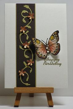 Twinkling H2O Butterfly card by Cathy... (change sentiment)