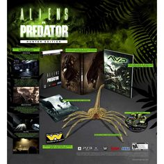 Aliens vs Predator Hunter Edition - Playstation 3 Brand New & Sealed RARE Xbox 360, Playstation, Ps3, Aliens, Microsoft, Happy Pig, Fps Games, Air Hockey, Alien Vs Predator