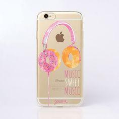 Capinha para celular Music Sweet Music