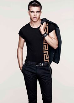 Versace H&M's cruise collection featuring top model River Viiperi.