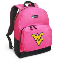 WVU Backpack Pink West Virginia University for Travel, Daypack CUTE School Bags Best Unique Cute Gifts for Girls, Students Ladies - (Apparel)  http://www.99homedecors.com/decors.php?p=B004AME082  B004AME082