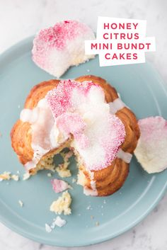 """sure, whatever, bundt cakes. What I REAALLY care about here is the sugared blossoms. I'm on an """"eat more flowers"""" crusade. 