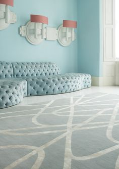 Contemporary Rugs - UK Handmade Modern Rugs - The Rug Company Living Room Sets, Rugs In Living Room, Room Rugs, Living Spaces, Area Rugs, Modern Sofa, Modern Rugs, Dining Room Paint, Childrens Rugs