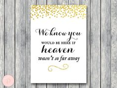 WD47c-Gold Remembrance Printable sign