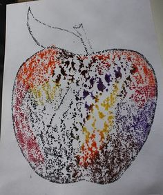 Great art project  for kids using sandpaper, an iron, and crayons.  Very fun looking.