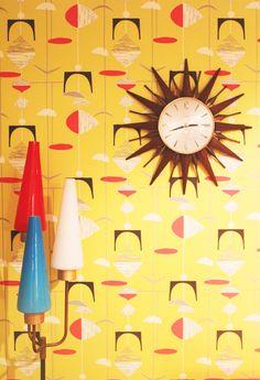 1950's wallpaper  www.thebigmacblog.com