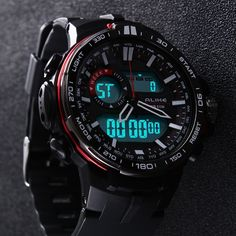 Günstige Neue G Stil Digitaluhr S Shock Männer Military Army Watch wasserdicht Datum Kalender LED Sportuhren Relogio masculino, Kaufe Qualität Quarz Uhren direkt vom China-Lieferanten:              Luxury Brand CHEETAH Watches Men Genuine Leather Band Digital LED Wristwatch Army Military Quartz
