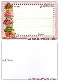 Recipe card designs of all sizes & colors. Free recipe card templates, protectors and more. Featuring and recipe card sizes in gorgeous designs Homemade Recipe Books, Homemade Cookbook, Free Printable Stationery, Printable Recipe Cards, Canning Labels, Canning Recipes, Scrapbook Recipe Book, Family Recipe Book, Recipe Paper