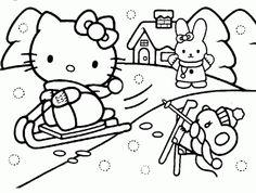 desenho hello kitty e amigos, colorir hello kitty e amigos