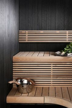 mit dusche 47 Coolest Home Sauna Design Ideas rustikal Spa Interior, Bathroom Interior Design, Interior Exterior, Sauna Steam Room, Sauna Room, Basement Sauna, Home Spa Decor, Scandinavian Saunas, Piscina Spa