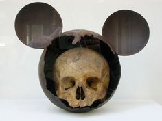 curios, skulls, nicola rubinstein, bone, mickey skull