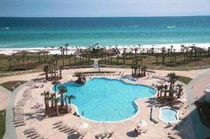 The 5 Best Resort Pools in Destin, Florida - The Good Life Destin Destin Florida Vacation, Florida Rentals, Destin Resorts, Destin Beach, Florida Beaches, Beach Resorts, Vacation Rentals, Palm Beach, Vacation Places