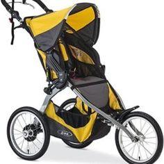 BOB Ironman Single Stroller, Yellow