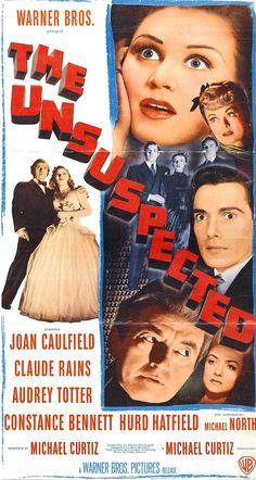 Unsuspected, The (1947) - Google Search