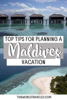 The top Maldives travel tips for planning your trip to paradise. Continue reading this information packed guide filled with useful tips including how to travel around the islands, the top things to do in the Maldives and more! maldives| maldives trip | maldives travel guide | maldives photography | maldives travel | maldives island Cool Places To Visit, Places To Travel, Travel Destinations, Places To Go, Travel Tips, Travel Hacks, Travel Advice, Travel Guides, Maldives Vacation