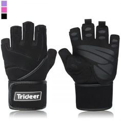 Padded Anti Slip Weight Lifting Gloves Gym Gloves with 18 Wrist Wraps Support for Weightlifting Cross Training Gym Workout Fitness Bodybuilding Silica Gel Grip Breathable Microfiber ** Continue to the product at the image link. Workout Gear, Workout Gloves, Gym Workouts, Workout Fitness, Fitness Studio Training, Gym Training, Cross Training, Best Weight Lifting Gloves, Heavy Weight Lifting