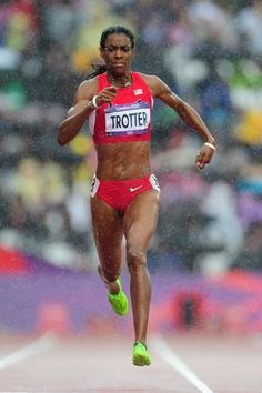 DeeDee Trotter-3rd 400m USA.