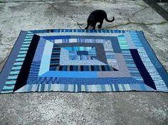 Ten stitch blanket, no pattern