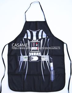 Free Shipping Party Product Funny STAR WARS darth vader Apron Character Costume Apron Cooking apron Party. Click visit to buy #Apron