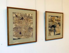 Barbara Dawson - Works - stitch and ink on Hahnemuhle paper - 2014, Strathnairn by the Lake exhibition, Belconnen Arts Centre, August-Sept 2014