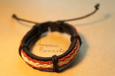 Men's Braided Leather Bracelet wrapped by versionbracelet on Etsy, $3.99 Mens Braids, Braided Leather, Reading, Trending Outfits, Unique Jewelry, Bracelets, Handmade Gifts, Books, Etsy