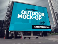 Save time and make your brand look eye candy with this static and animated outdoor mock-ups. Easy to place your designs using smart objects, double-click the Smart Layer, copy & paste your artw...
