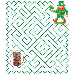 #BetterMade St. Patrick's Day Maze Game