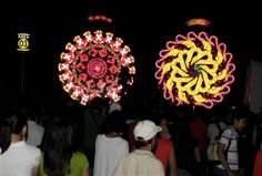 Giant Lantern Festival - Awesome Lantern Competition, Only in the Philippines! Festival Guide, Local Festivals, White Lanterns, Lantern Festival, Philippines, Competition, Balloons, Awesome, Globes