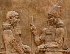 Znalezione obrazy dla zapytania asyryjski władca