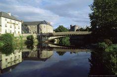 Kilkenny Castle, River Nore, Kilkenny, County Kilkenny, Ireland