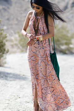 Maxi Printed <3<3 Visit http://www.makeupbymisscee.com/ For guide + ideas on #style and #fashion