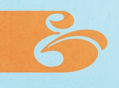 Ampersand: Great use of positive and negative space