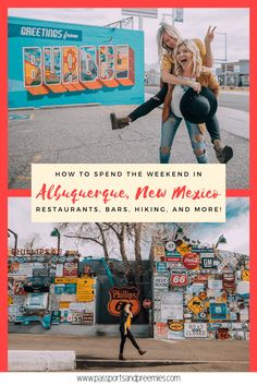 """Known as the """"Land of Enchantment"""", there's many reasons to add Albuquerque to your bucket list! From the hot balloon festival to the downright incredible food and mountain scenery, here's how to have a successful weekend in ABQ. - Passports and Preemies New Mexico Road Trip, Travel New Mexico, Albuquerque New Mexico Restaurants, Mini Moon Ideas, Albuquerque News, New Mexico Albuquerque, World Travel Guide, Travel Guides, Mexico City"""