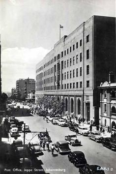 Jeppe Street Post Office, Johannesburg. Someone I cared about collected my letters from Poste Restante there!