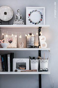 My Pink Plum!: Elegancki kącik biurowy.