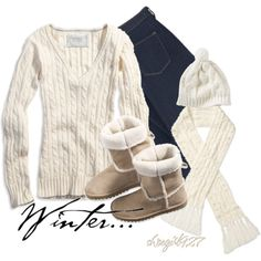 """""""Cozy winter outfit..."""" love this!"""