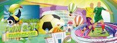 Die Fantasy-WM 2014 ist eine interaktive Fußball-WM. Ziel ist es mit der eigenen Mannschaft möglichst viele Punkte zu sammeln um den FWM-Titel zu holen. Corporate Design, Editorial Design, Web Design, Disney Characters, Fictional Characters, Fantasy, Art, Simple Logos, Advertising Agency