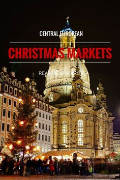 It's that time of the year once again when Christmas markets start popping up all around Europe. They've already started here in Budapest but most open this weekend with the start of Advent.    For most people