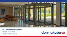 The KTC 2 two-wing revolving door system offers plenty of scope for architectural creativity. Thanks to the variability of its design and a broad selection of surface finishes, it will enhance the entrance of any building, giving it both uniqueness and style. Easy to operate and suited to the requirements of wheelchair users, the KTC 2 also raises accessibility and convenience to a new level. Hospital Architecture, Revolving Door, Surface Finish, Hospitals, Entrance, Creativity, It Is Finished, Building, Easy