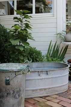 Antique Galvanized Steel Cowboy Bathtub Adult By