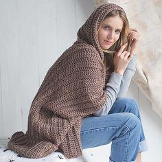 Ravelry: Cuddle Up Poncho pattern by Sara Dudek