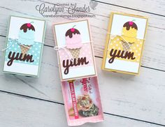Care Bear Stamps   Be Inspired Blog Hop ~ Tasty Treats   Stampin' Up!