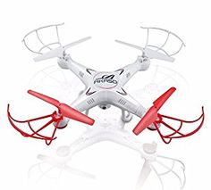 Amazon.com: Akaso X5C 4CH 2.4GHz 6-Axis Gyro Headless RC Quadcopter with HD Camera, 360-degree 3D Rolling Mode RC Drone (Bonus MicroSD card & Blades Propellers included): Toys & Games