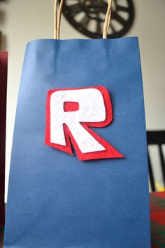 ROBLOX FAVOR BAGS Set of 12 Roblox inspired party bag