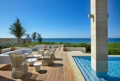The Romanos, a Luxury Collection Resort, Costa Navarino - Koroni Royal Villa - Terrace