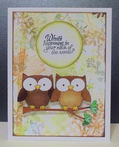 306 best cards owls images on pinterest owl crafts packaging collage owl card for jennifer owl punch owl card cute owl friendship cards m4hsunfo